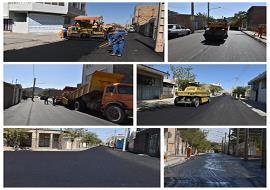 بهسازی و روکش آسفالت خیابان پیراحمد