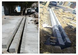 عملیات بهسازی و اصلاح جوی عرضی تقاطع خیابان شهید باهیئت و فصیح