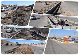 شروع عملیات بهسازی و زیباسازی ورودی شهر خواف ( از سمت پلیس راه )